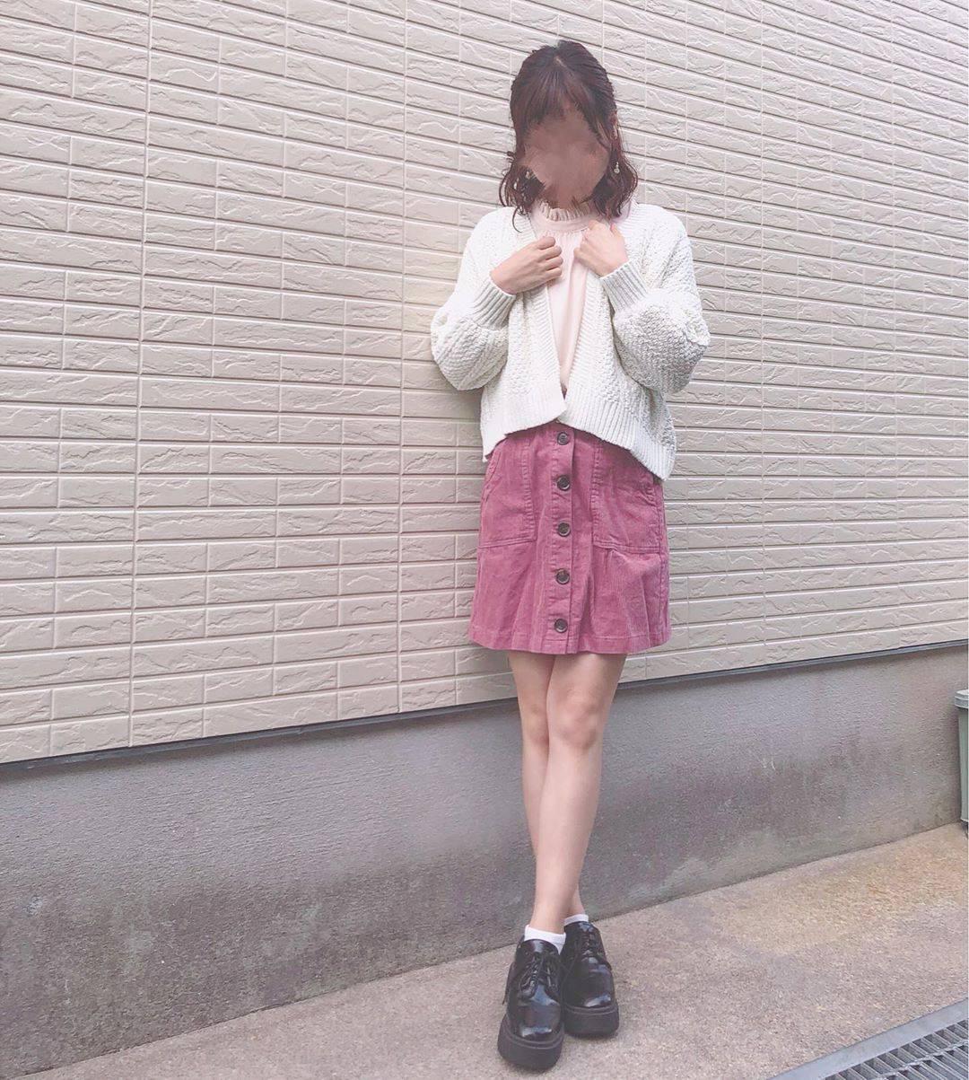最高気温18度・最低気温15度 flower_22227の服装