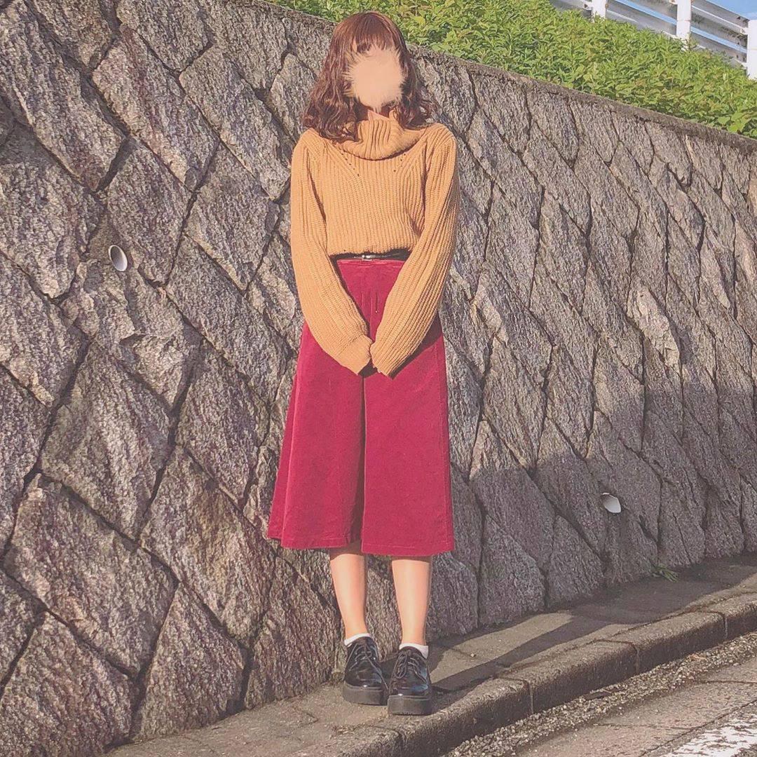 最高気温20度・最低気温11度 flower_22227の服装