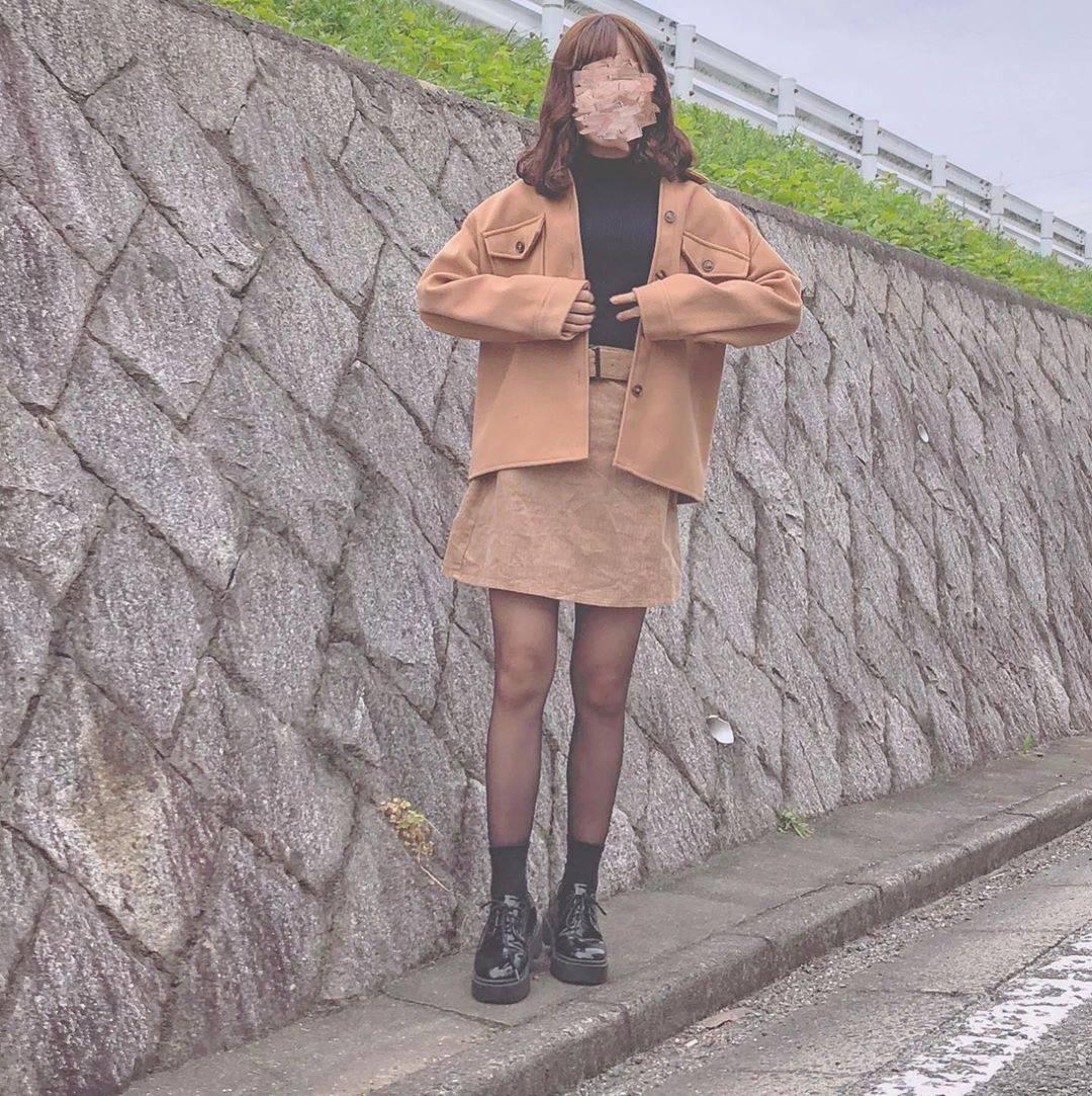 最高気温10度・最低気温7度 flower_22227の服装
