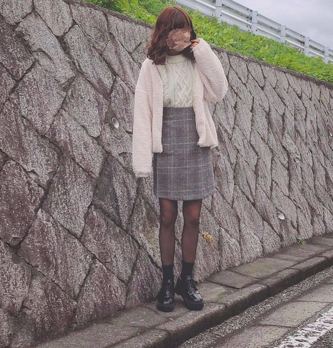 最高気温11度・最低気温4度 flower_22227の服装