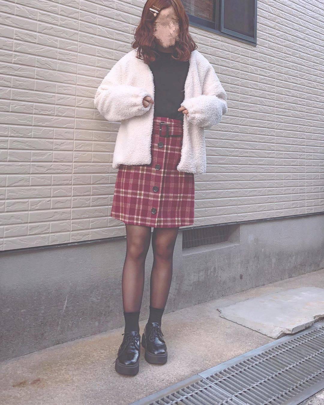最高気温7度・最低気温4度 flower_22227の服装