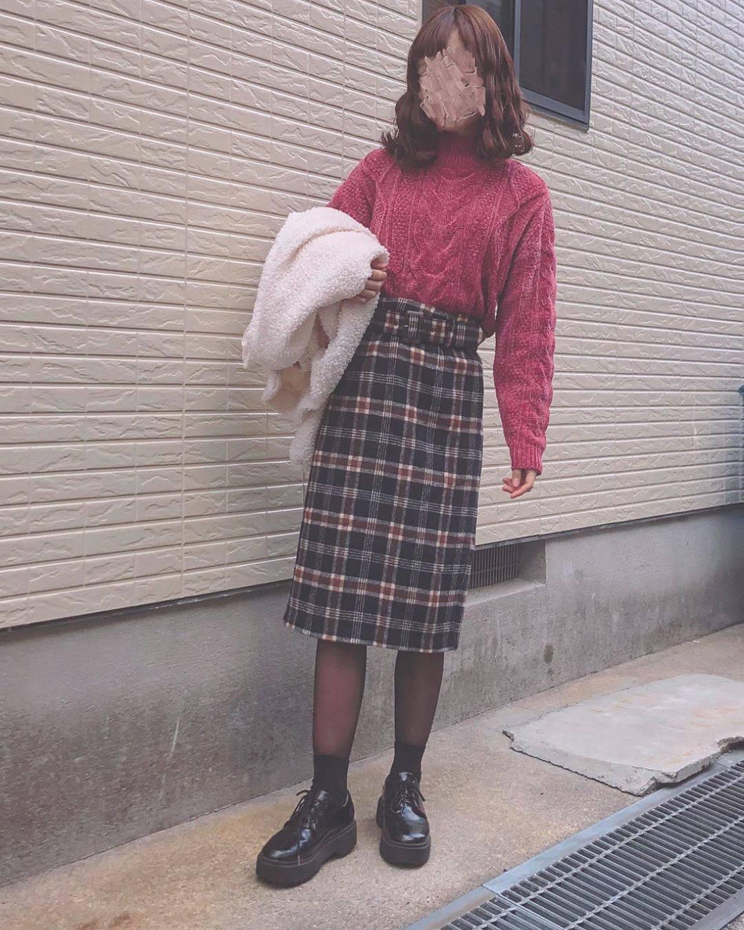 最高気温9度・最低気温6度 flower_22227の服装