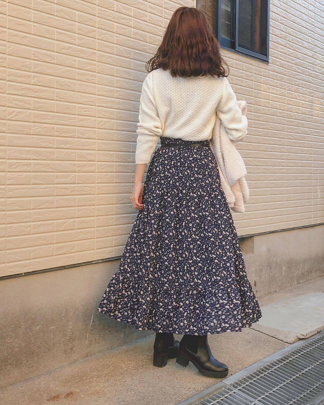 最高気温12度・最低気温2度 flower_22227の服装