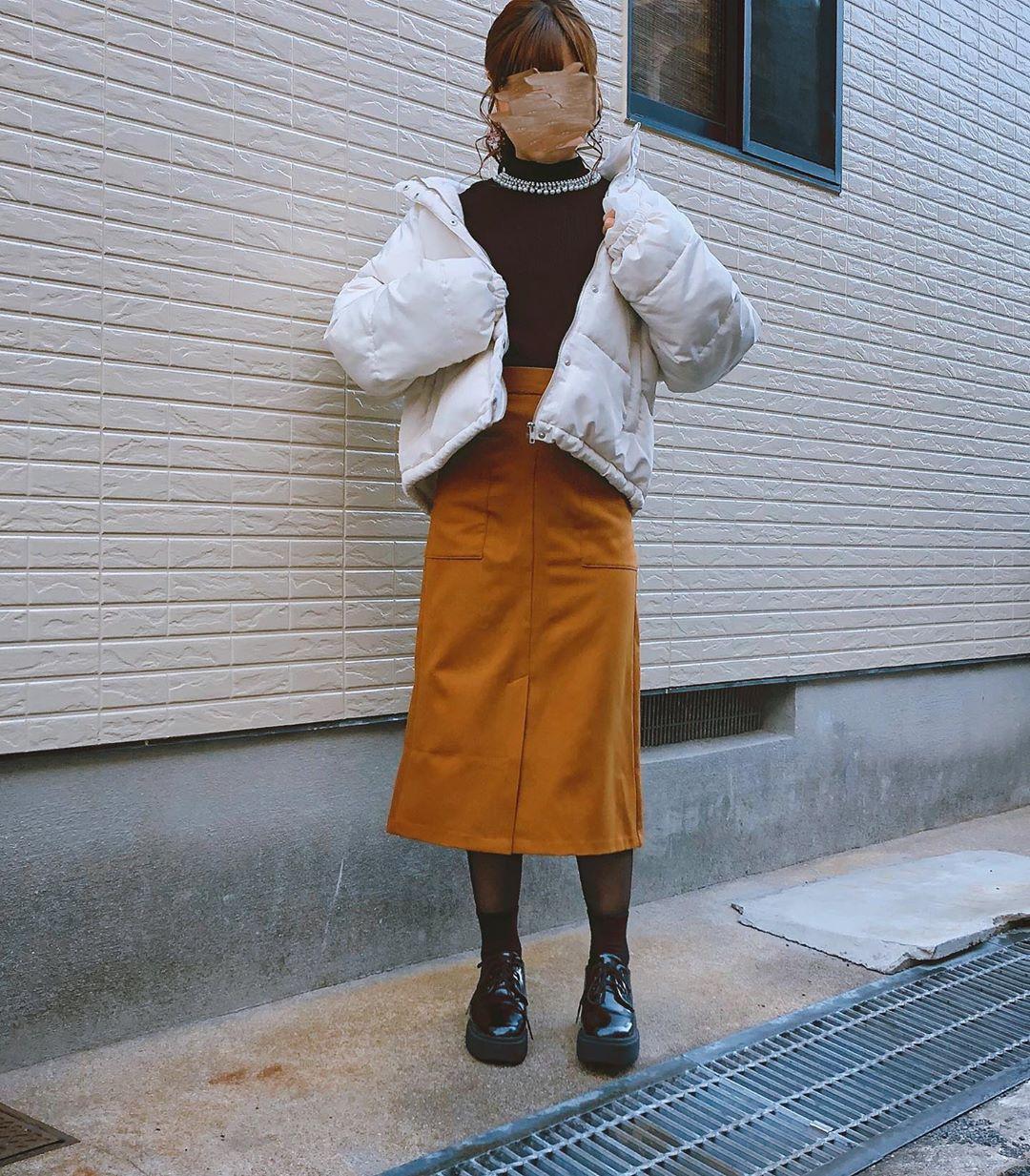 最高気温10度・最低気温0度 flower_22227の服装