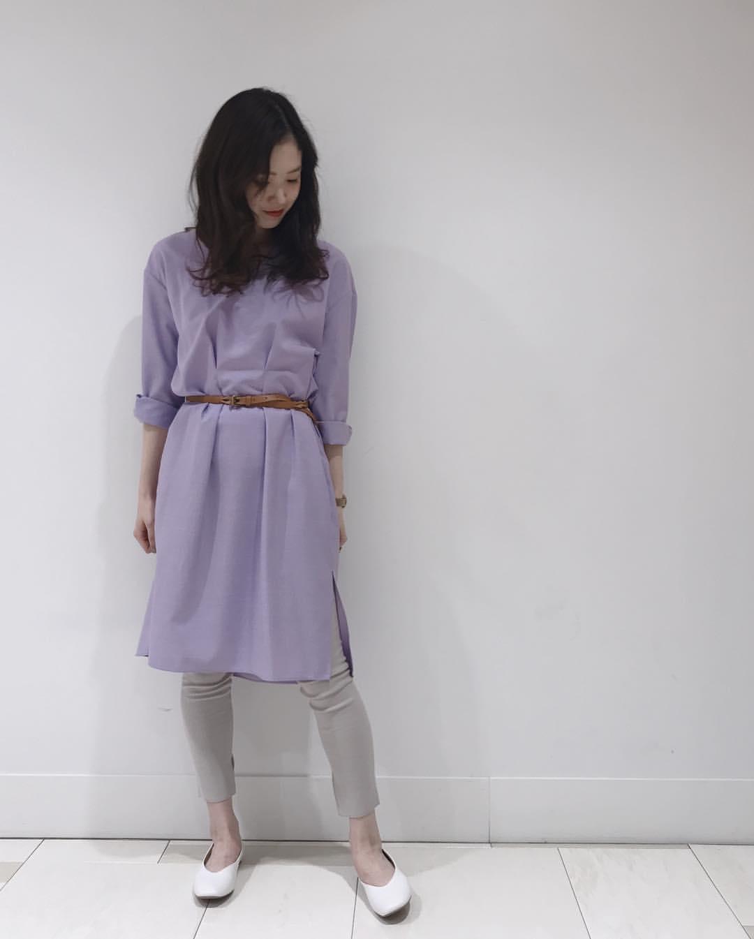 最高気温19度・最低気温7度 hikari_k0122の服装