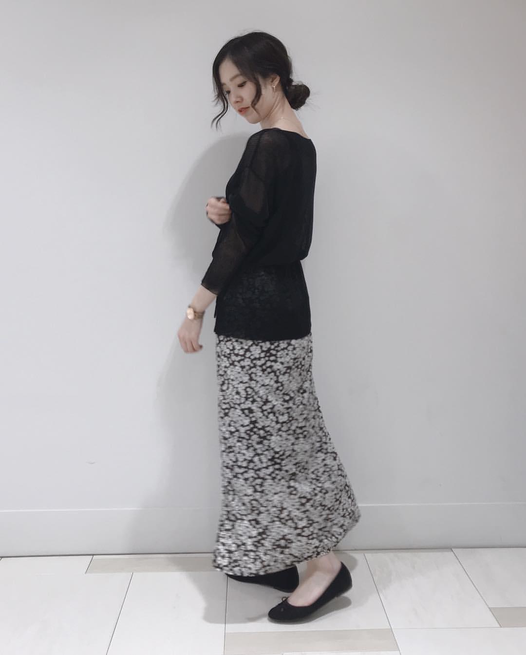 最高気温9度・最低気温6度 hikari_k0122の服装