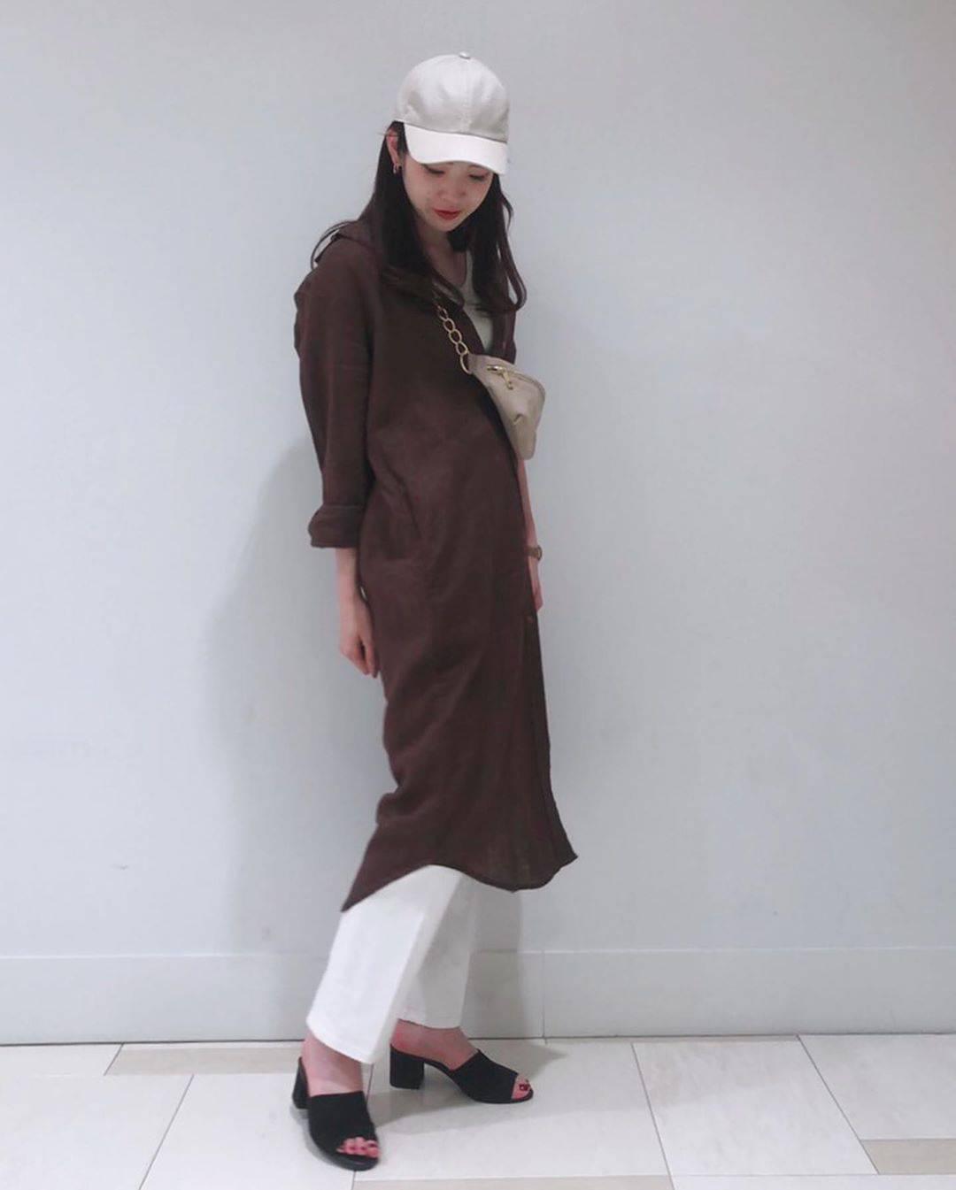 最高気温22度・最低気温14度 hikari_k0122の服装