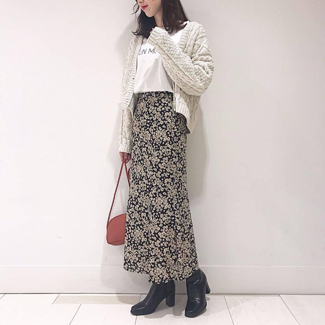最高気温24度・最低気温18度 hikari_k0122の服装