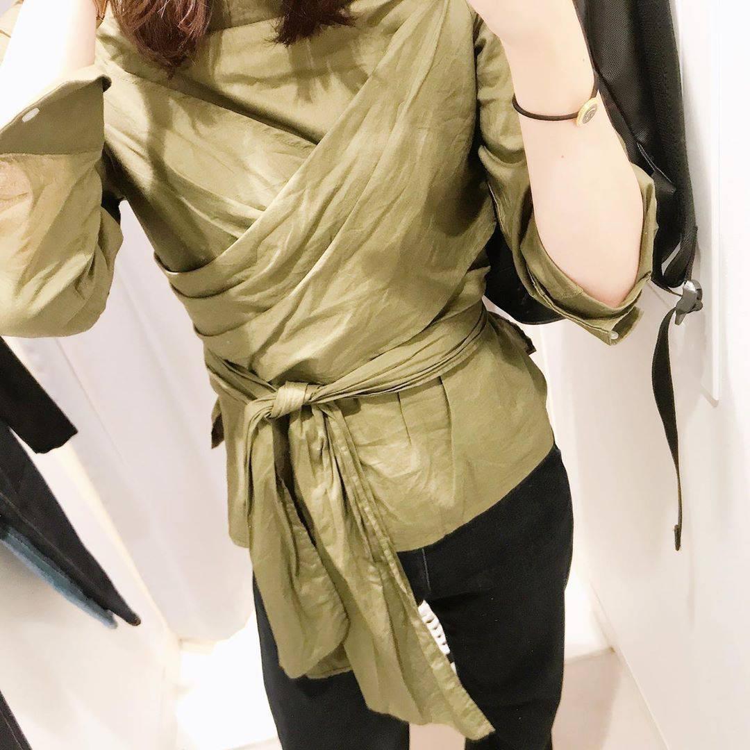 最高気温23度・最低気温18度 hikari_k0122の服装