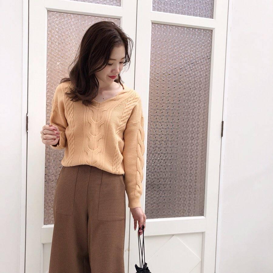 最高気温29度・最低気温19度 hikari_k0122の服装
