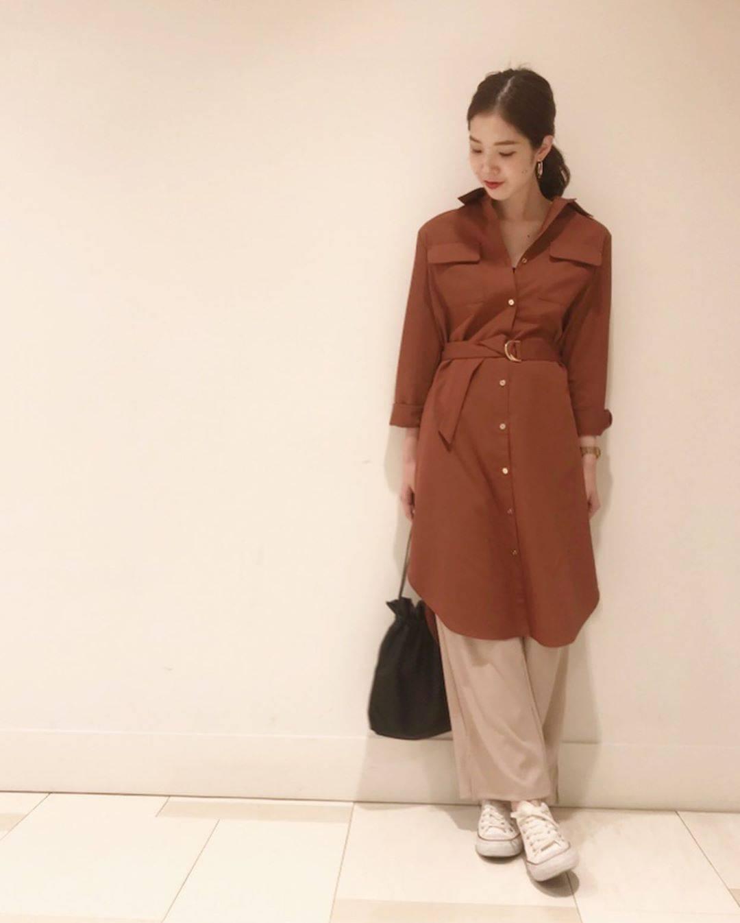 最高気温28度・最低気温20度 hikari_k0122の服装