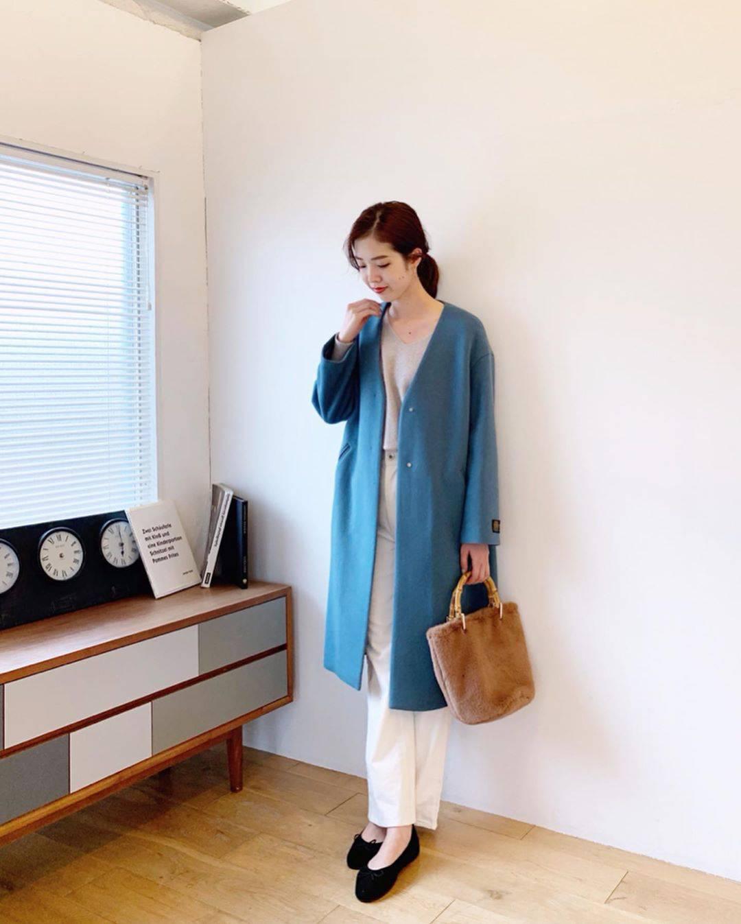 最高気温19度・最低気温14度 hikari_k0122の服装