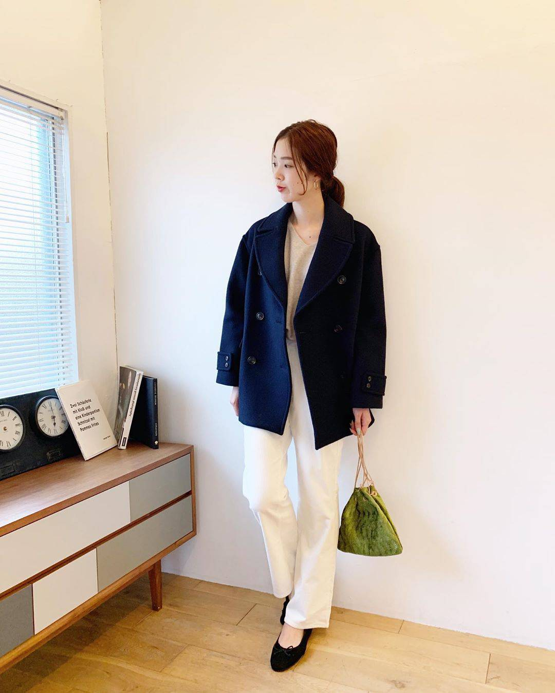 最高気温24度・最低気温12度 hikari_k0122の服装