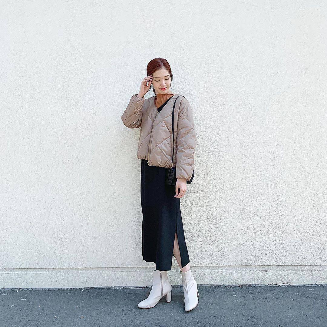 最高気温19度・最低気温10度 hikari_k0122の服装