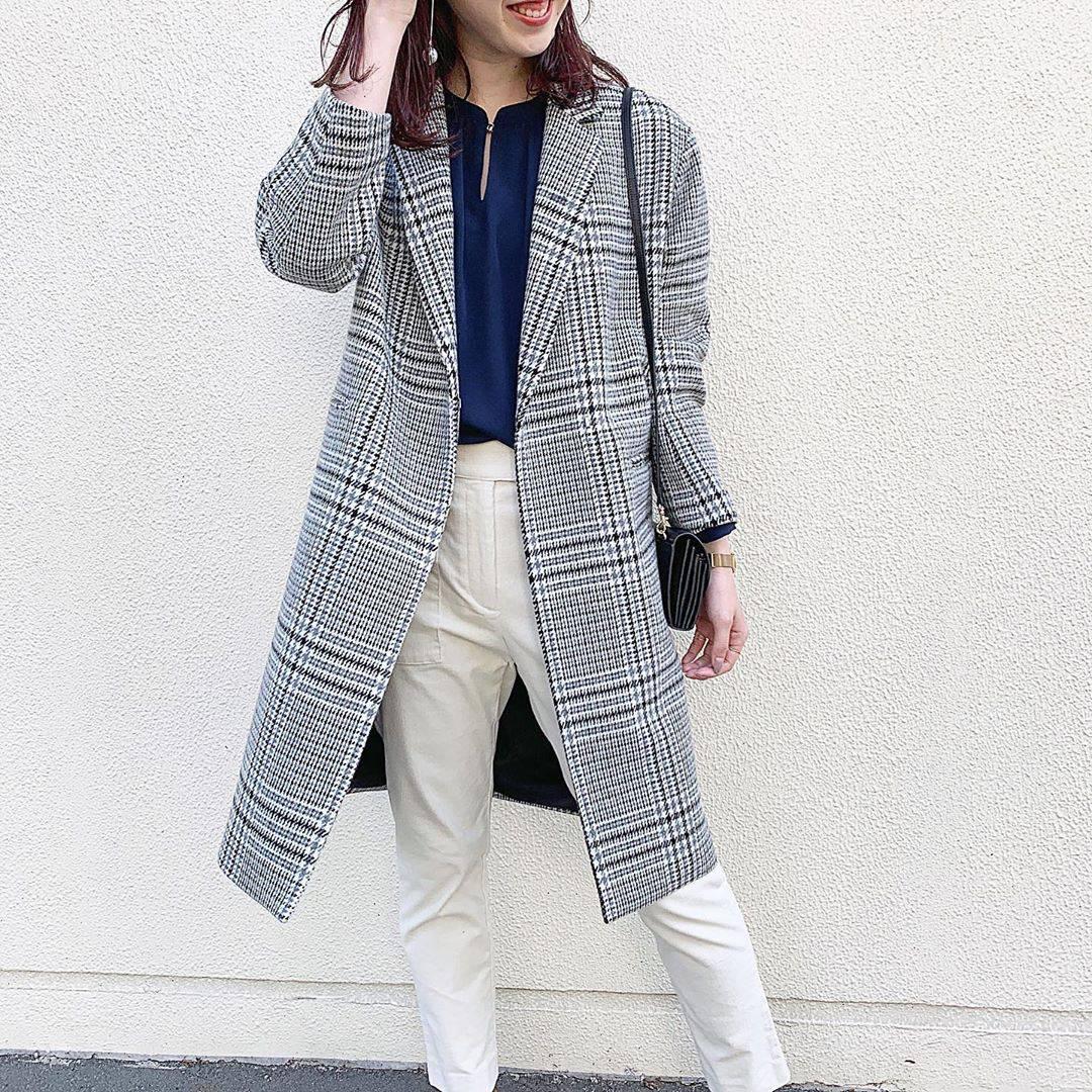 最高気温21度・最低気温8度 hikari_k0122の服装
