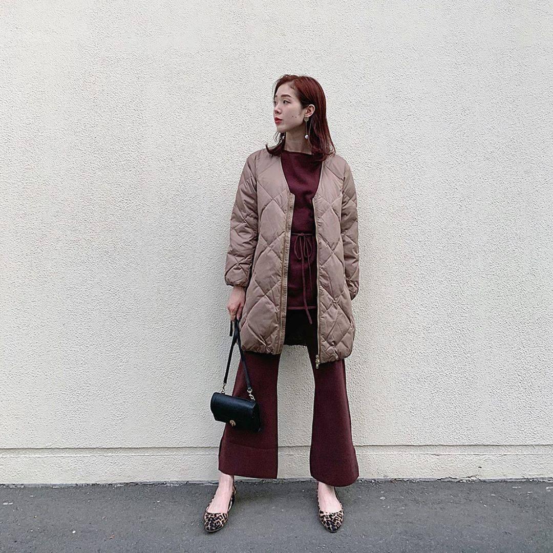 最高気温17度・最低気温11度 hikari_k0122の服装