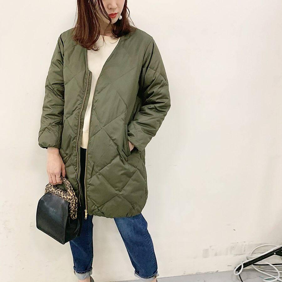 最高気温18度・最低気温9度 hikari_k0122の服装