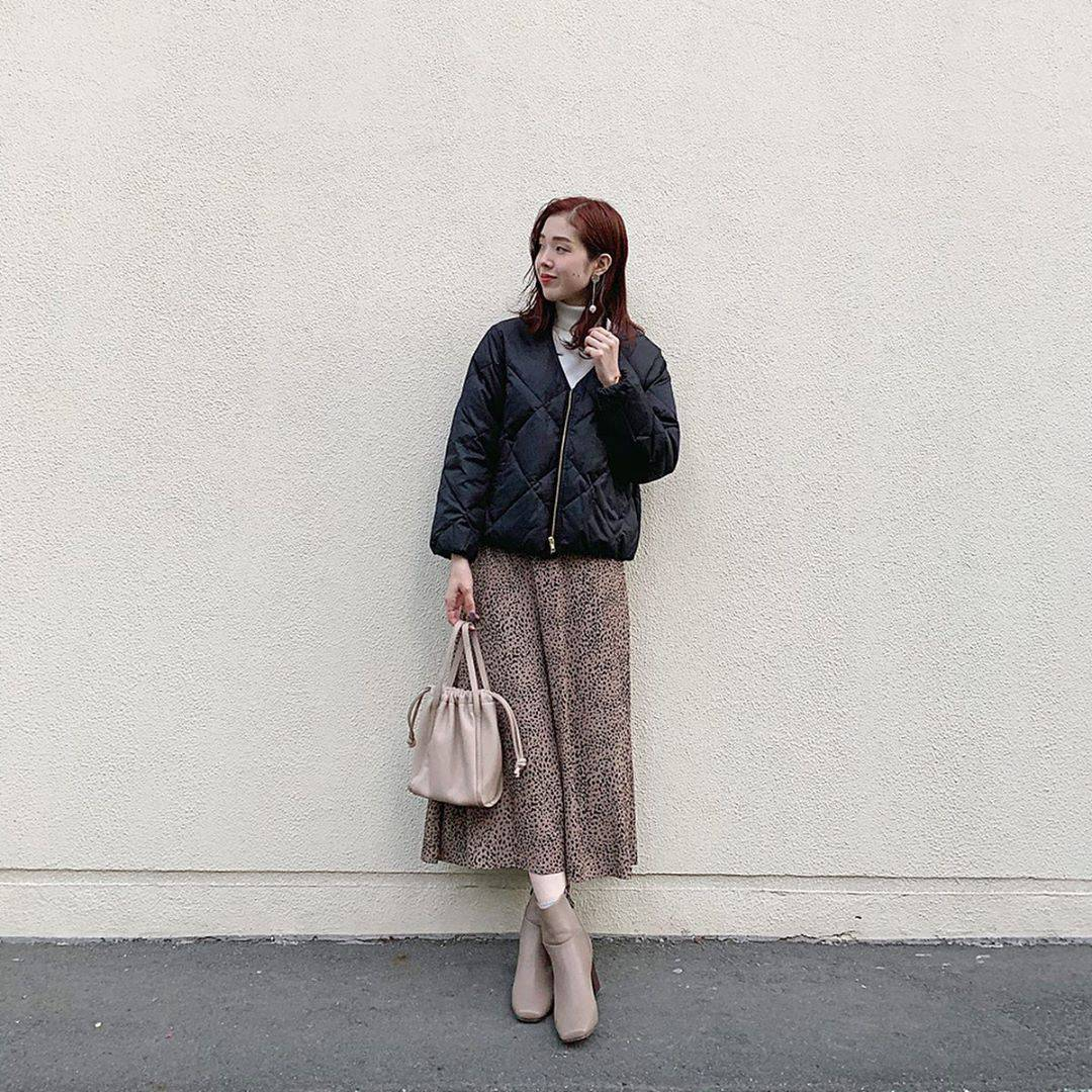 最高気温17度・最低気温10度 hikari_k0122の服装