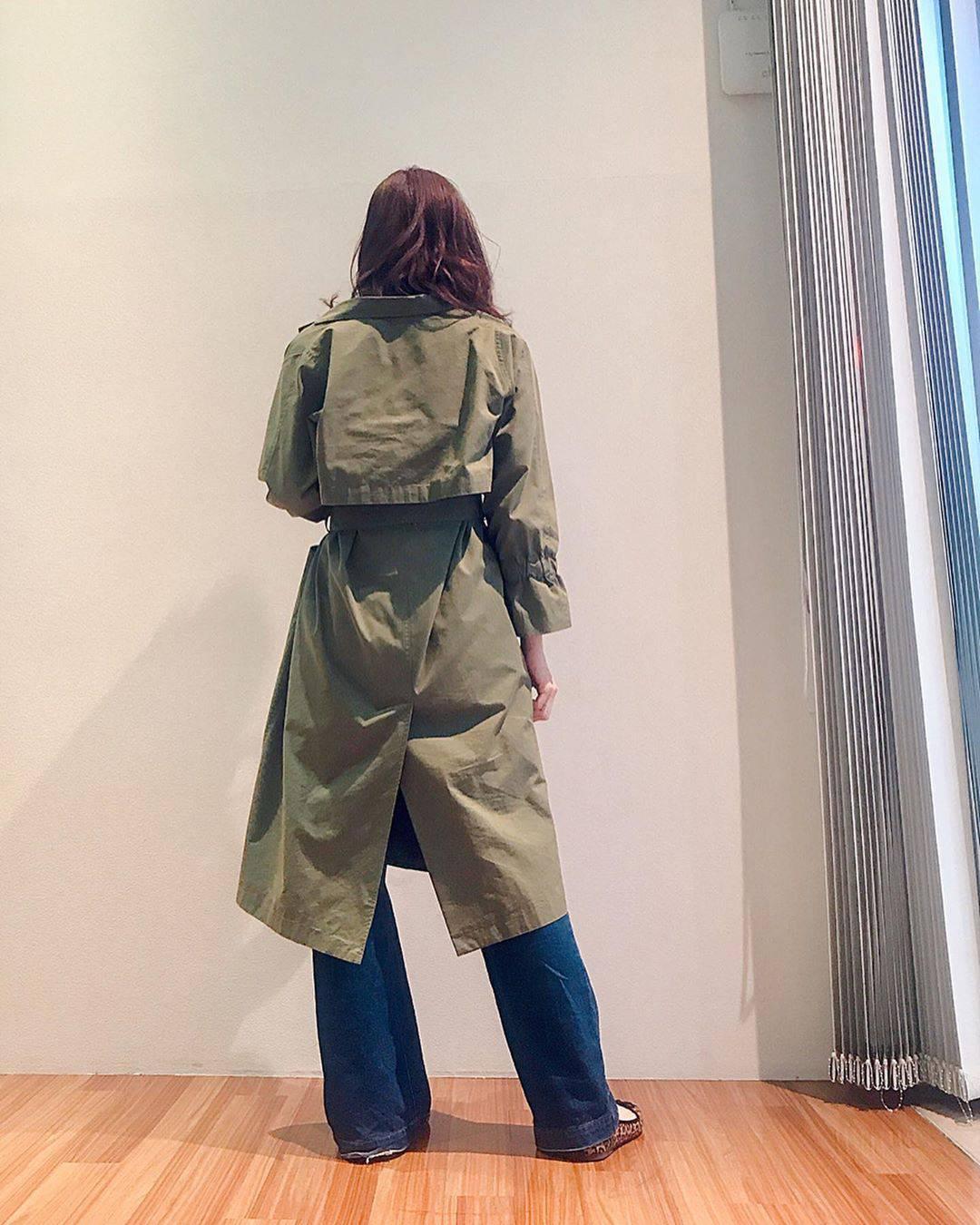 最高気温15度・最低気温9度 hikari_k0122の服装