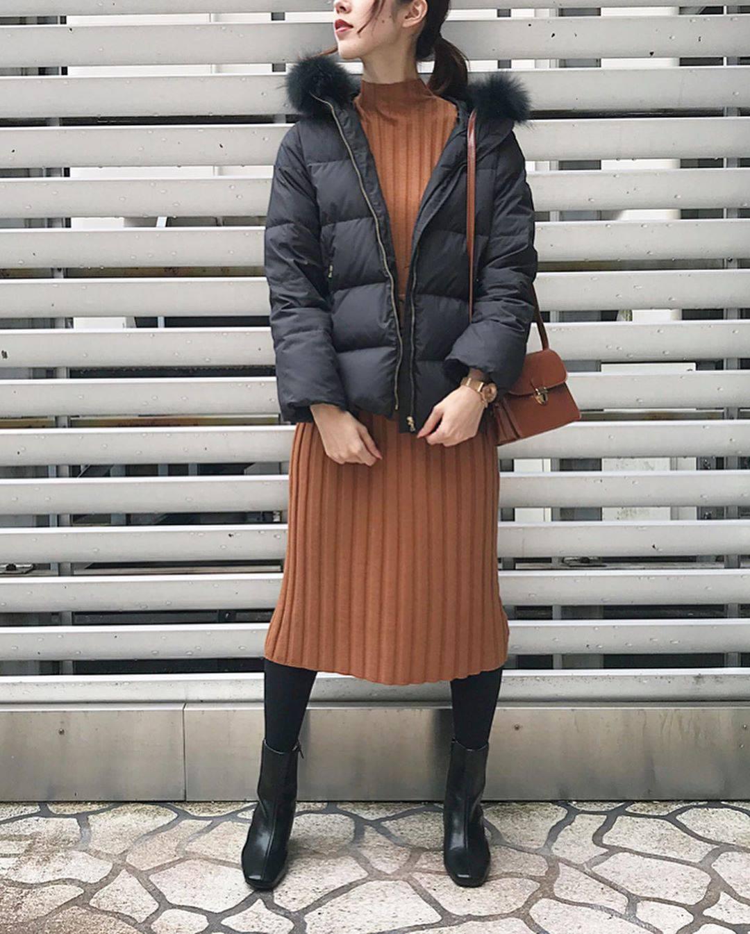 最高気温10度・最低気温7度 hikari_k0122の服装