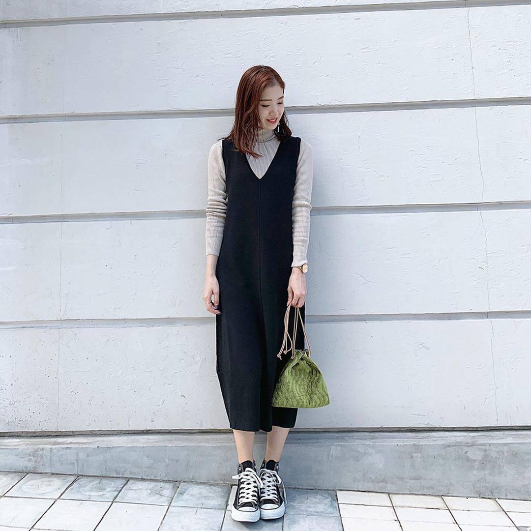 最高気温7度・最低気温4度 hikari_k0122の服装