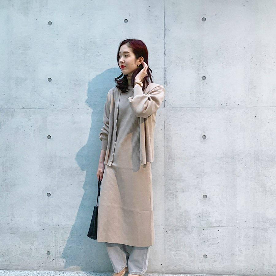 最高気温11度・最低気温8度 hikari_k0122の服装