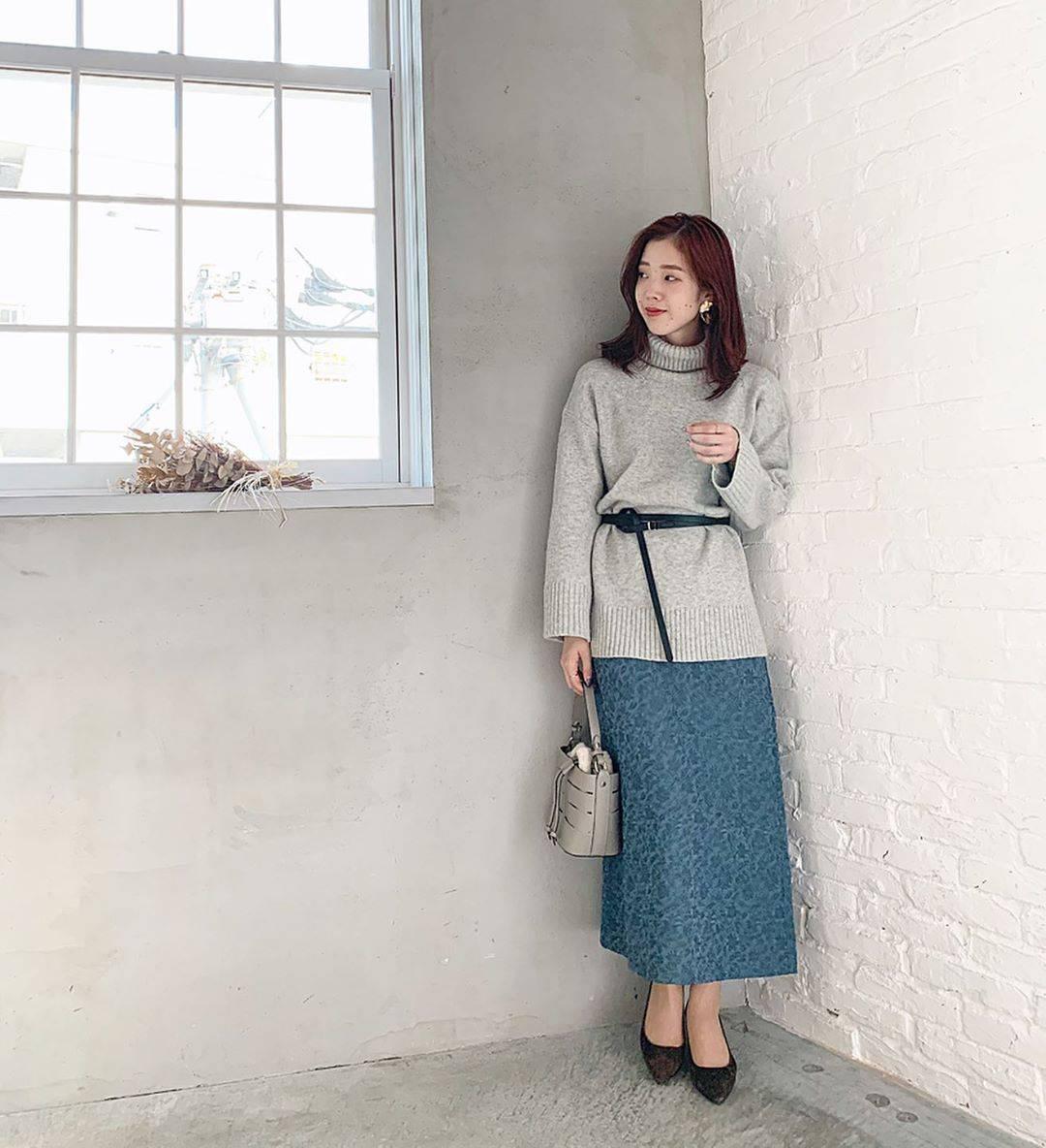 最高気温14度・最低気温4度 hikari_k0122の服装
