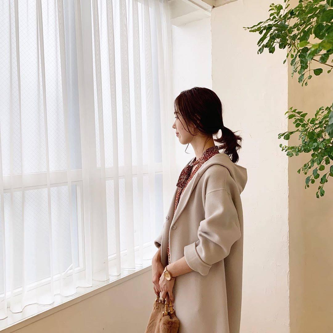 最高気温10度・最低気温2度 hikari_k0122の服装