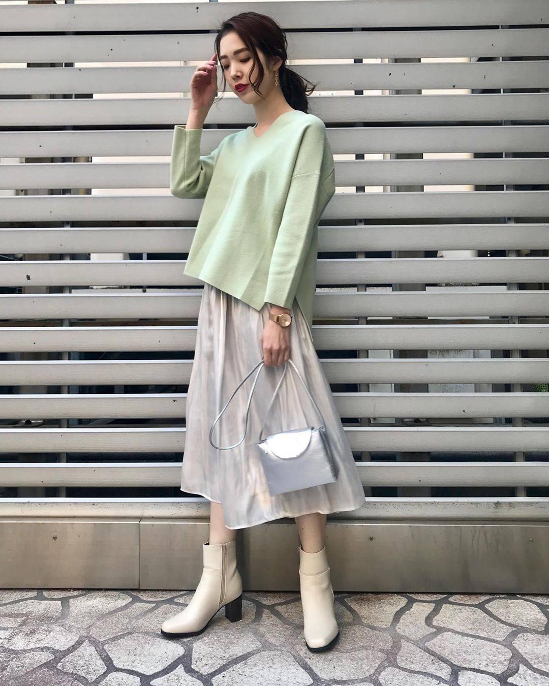最高気温7度・最低気温1度 hikari_k0122の服装