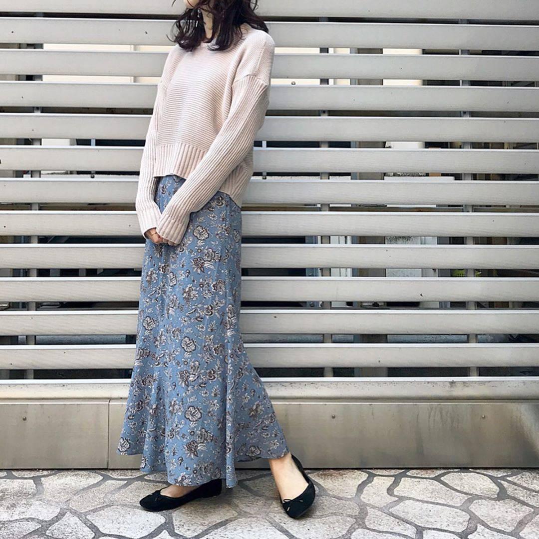最高気温7度・最低気温3度 hikari_k0122の服装