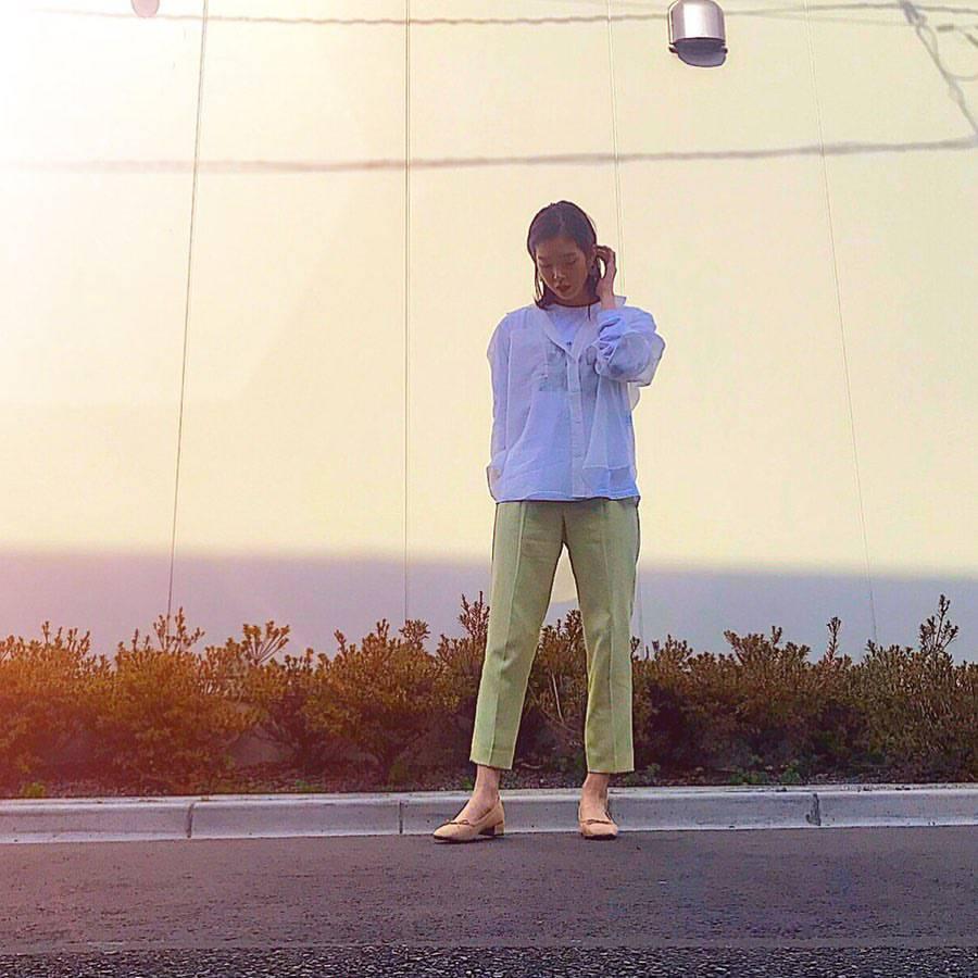 最高気温13度・最低気温5度 hikari_k0122の服装