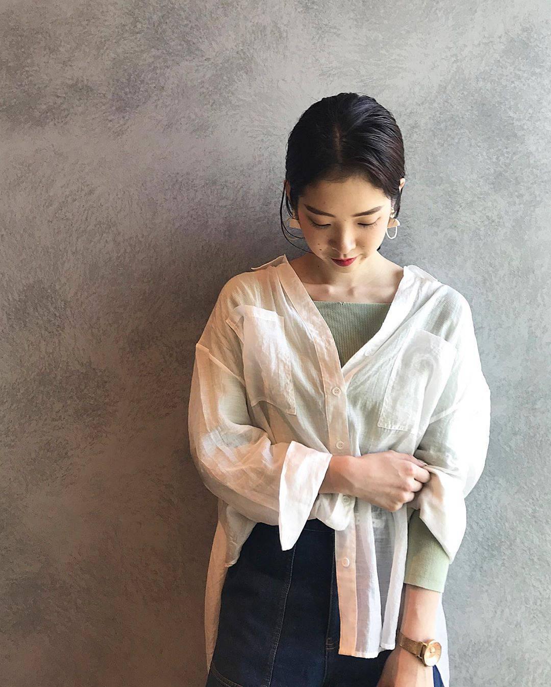 最高気温15度・最低気温4度 hikari_k0122の服装
