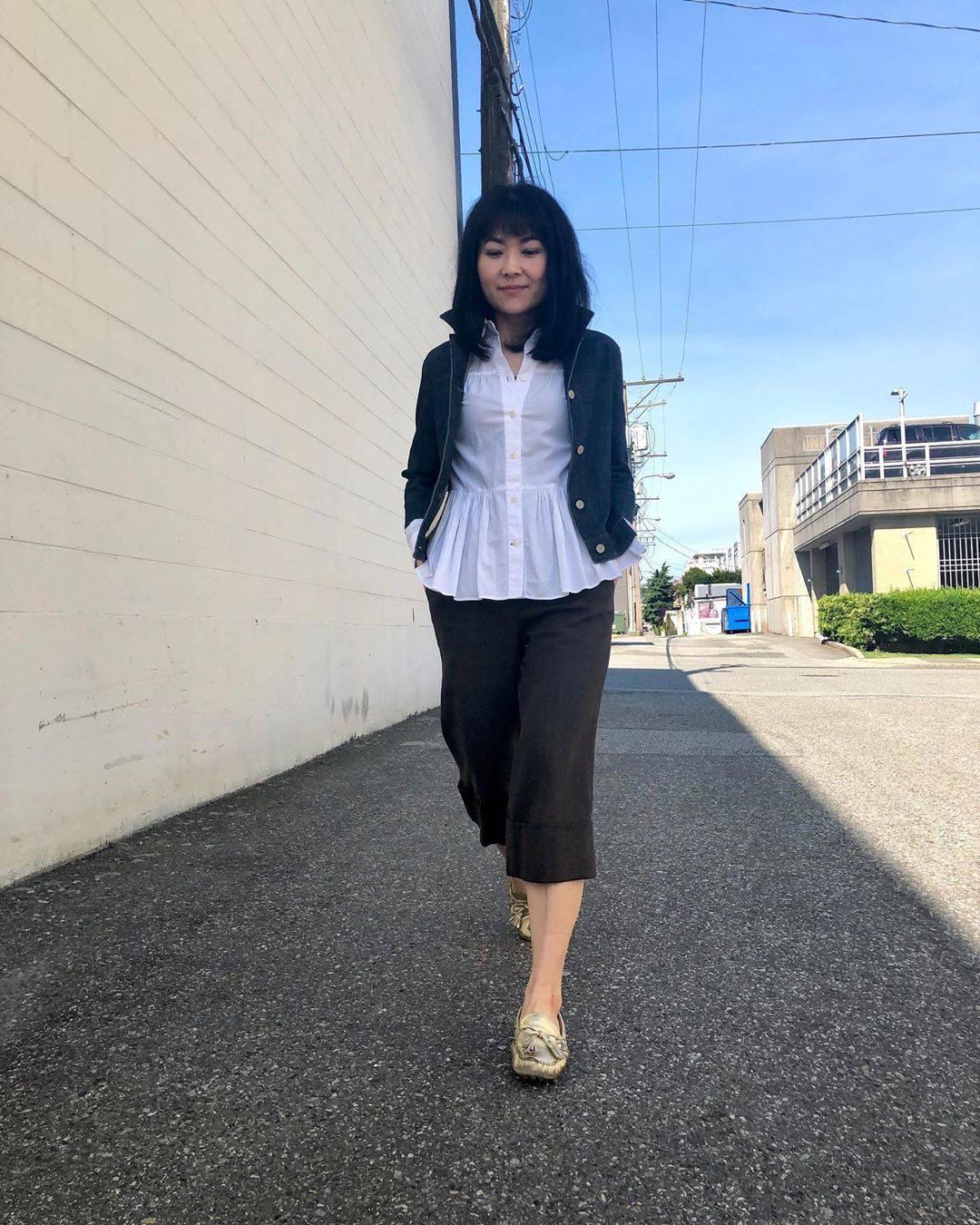 最高気温27度・最低気温18度 i.styleclosetの服装