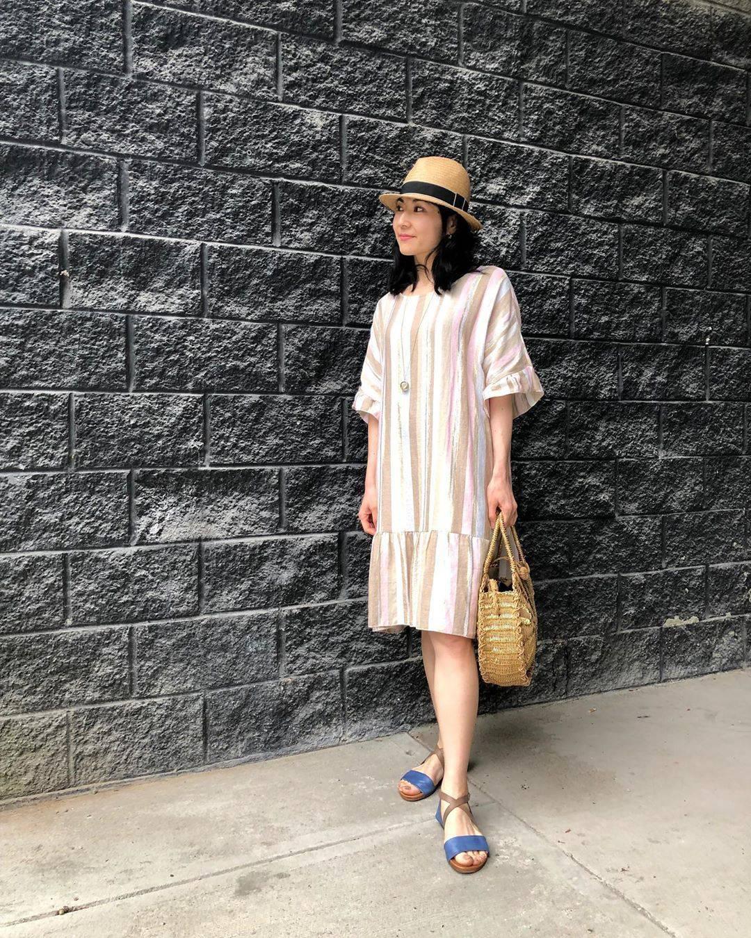 最高気温29度・最低気温19度 i.styleclosetの服装