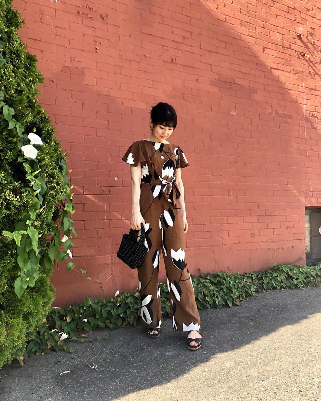 最高気温30度・最低気温23度 i.styleclosetの服装