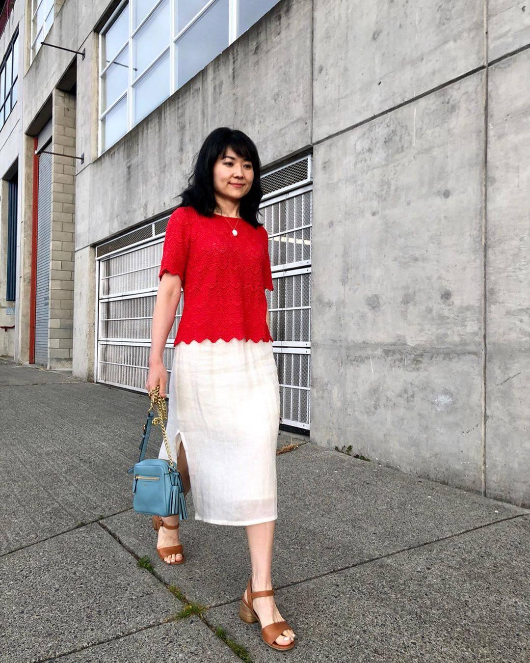 最高気温26度・最低気温20度 i.styleclosetの服装