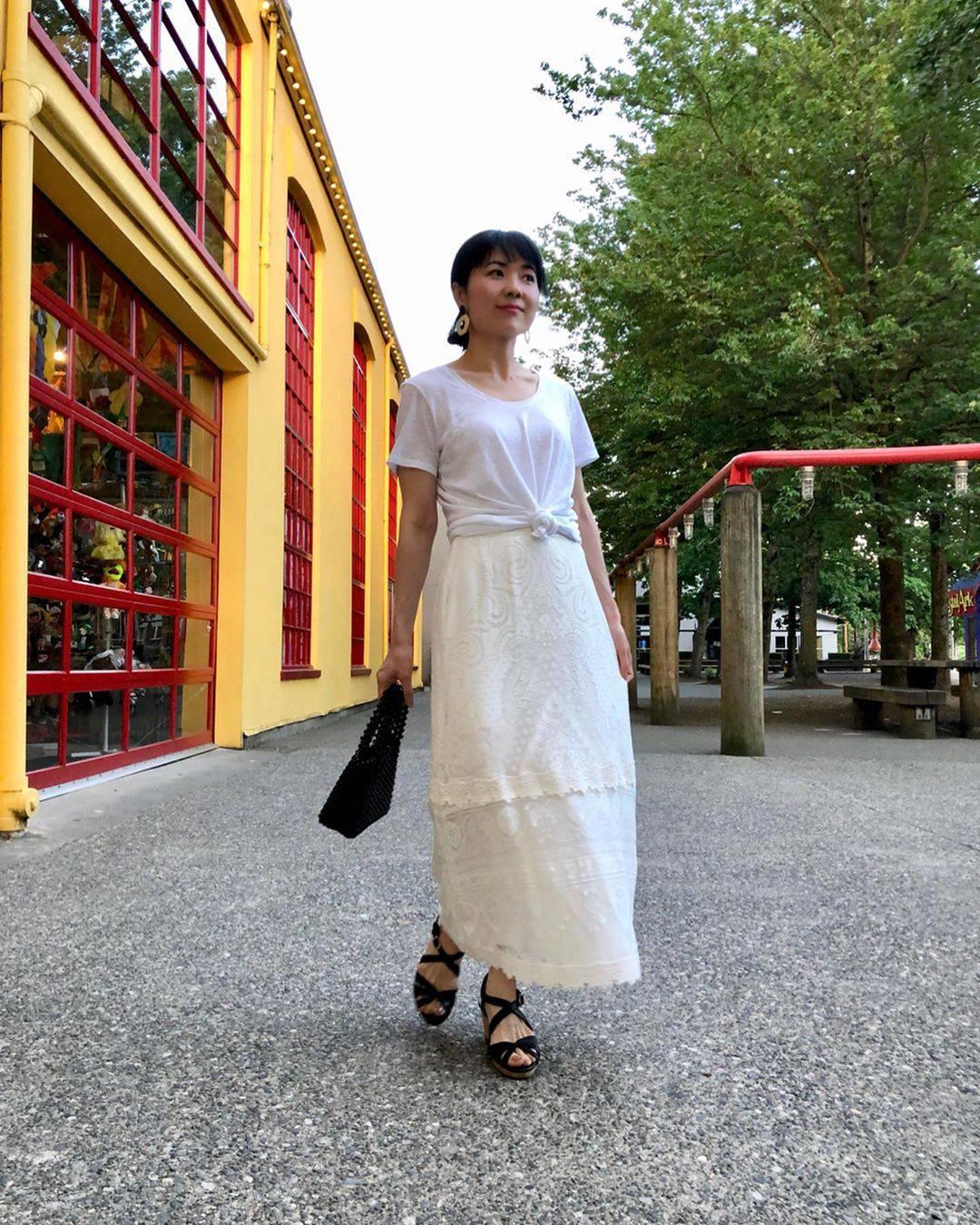最高気温32度・最低気温24度 i.styleclosetの服装