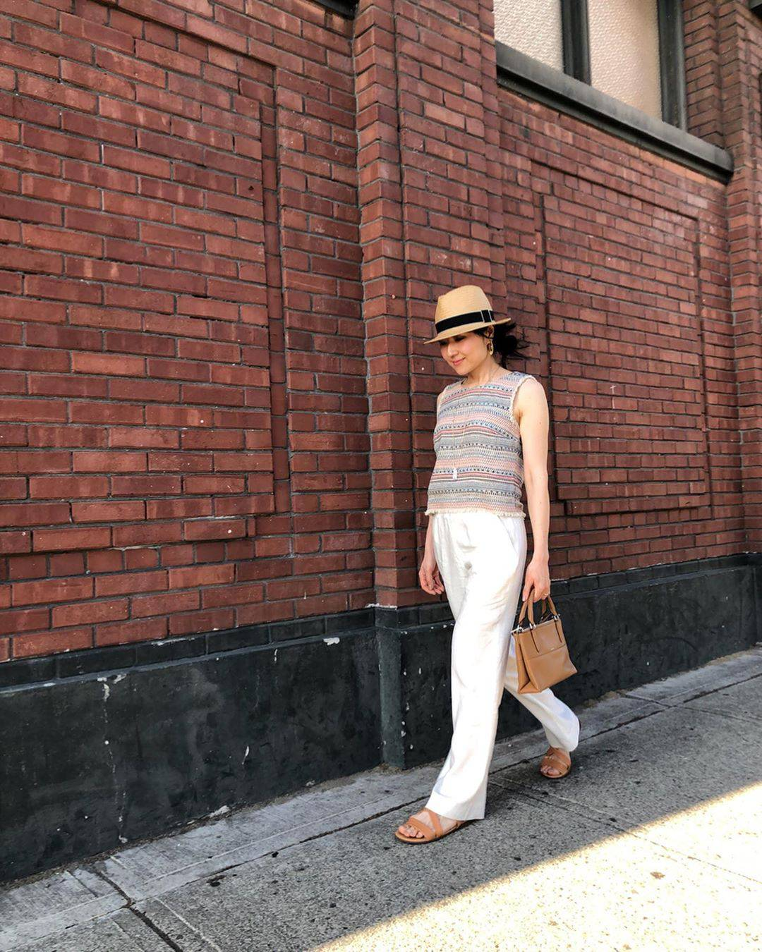 最高気温35度・最低気温27度 i.styleclosetの服装