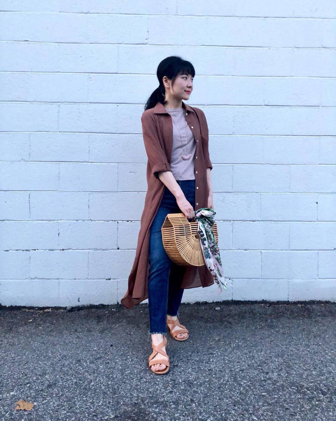 最高気温35度・最低気温26度 i.styleclosetの服装