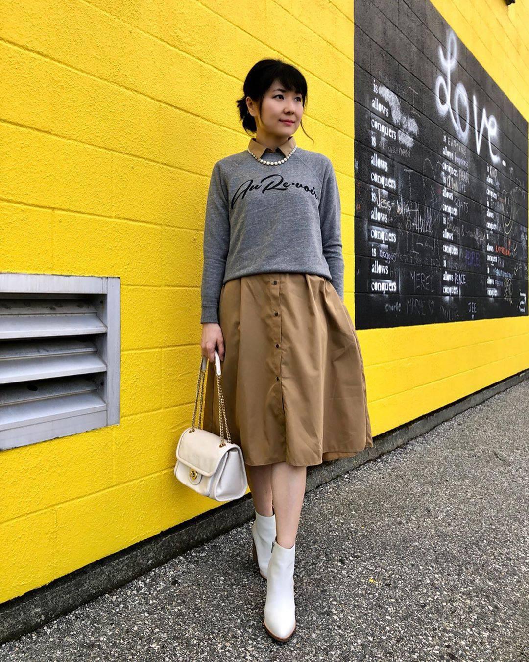 最高気温28度・最低気温18度 i.styleclosetの服装