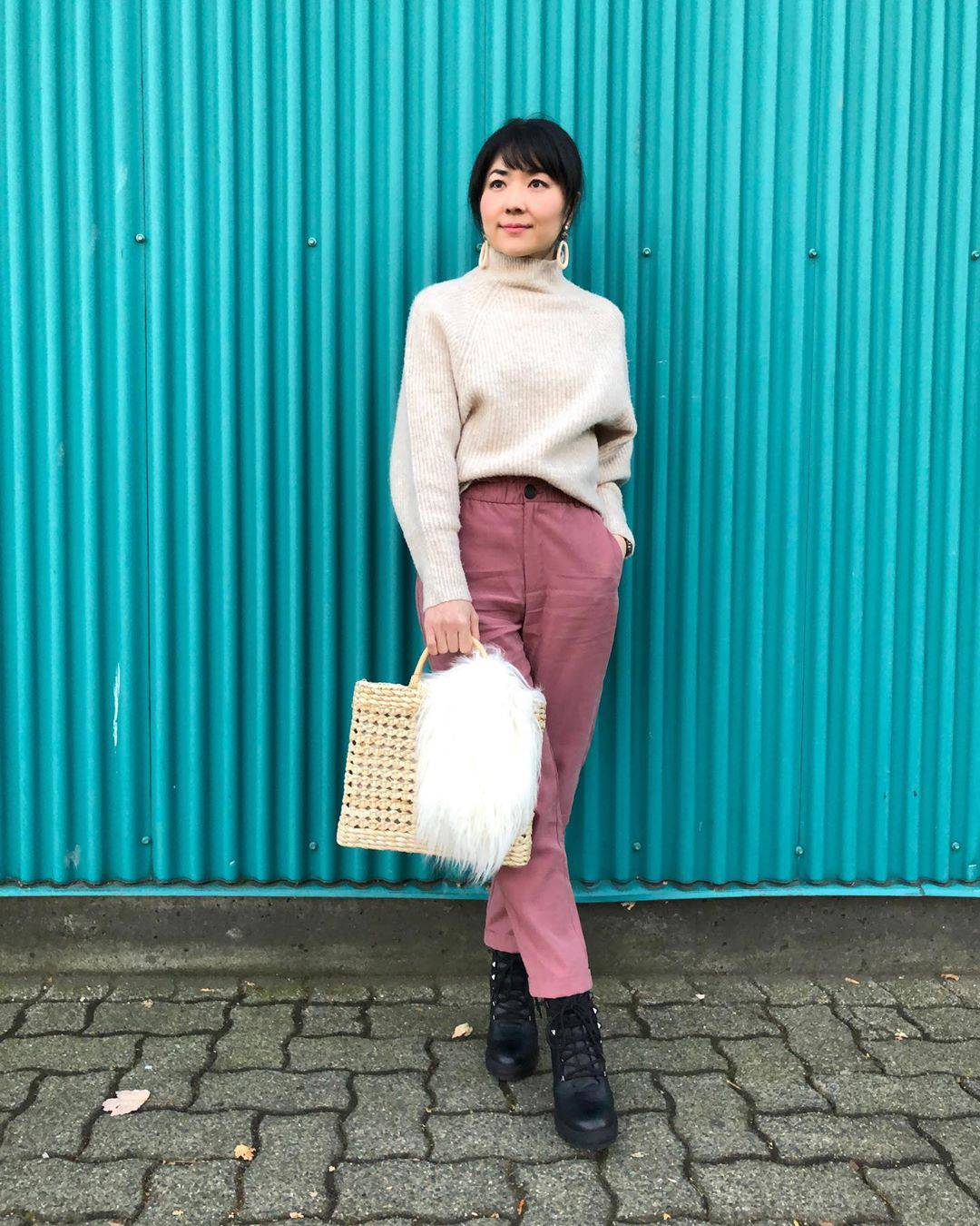 最高気温22度・最低気温14度 i.styleclosetの服装