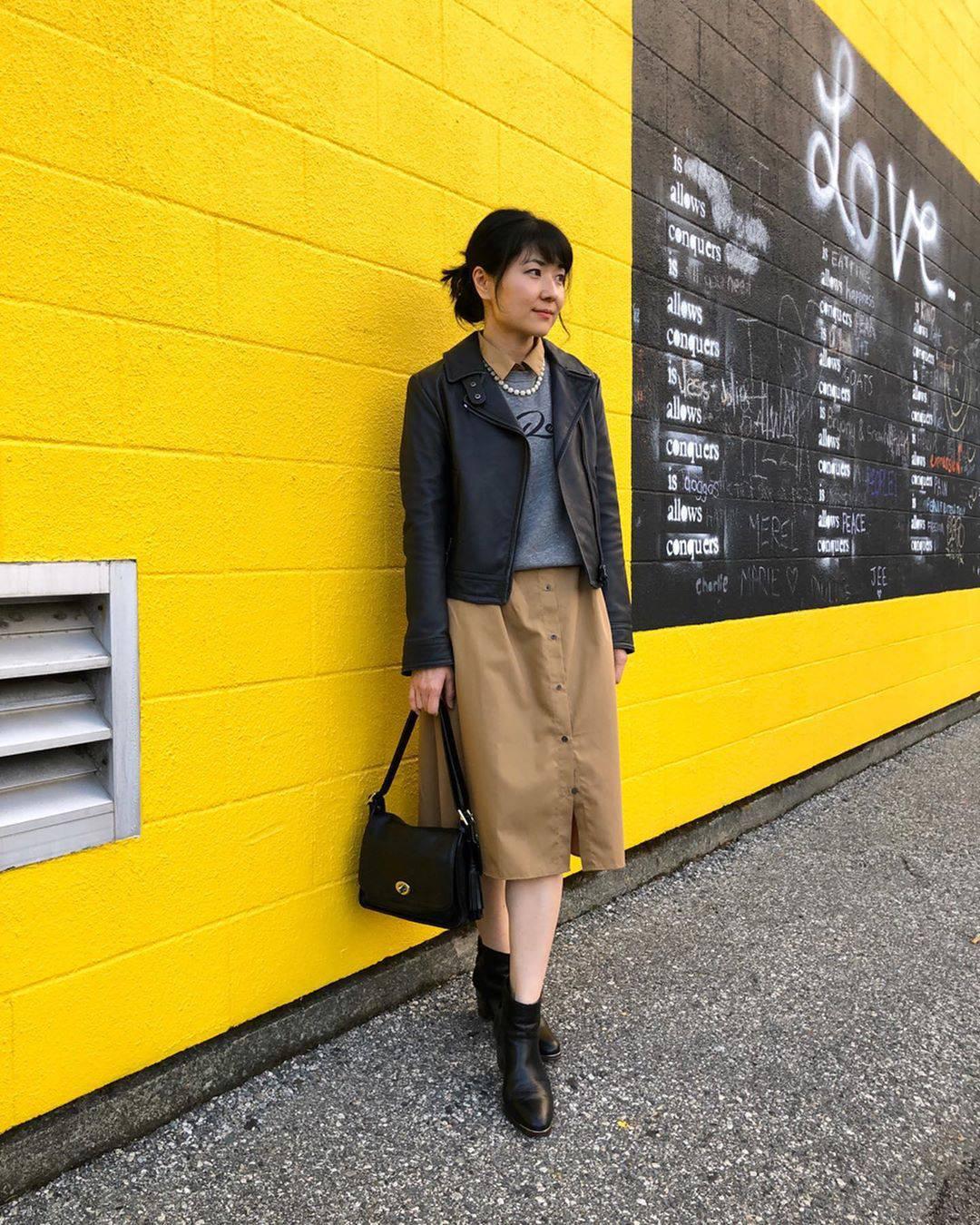 最高気温18度・最低気温9度 i.styleclosetの服装