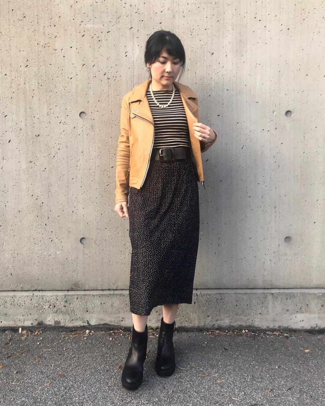 最高気温17度・最低気温10度 i.styleclosetの服装