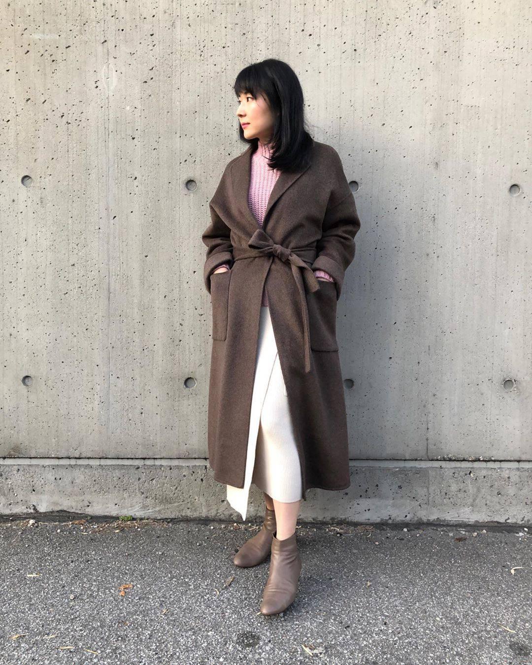 最高気温21度・最低気温9度 i.styleclosetの服装