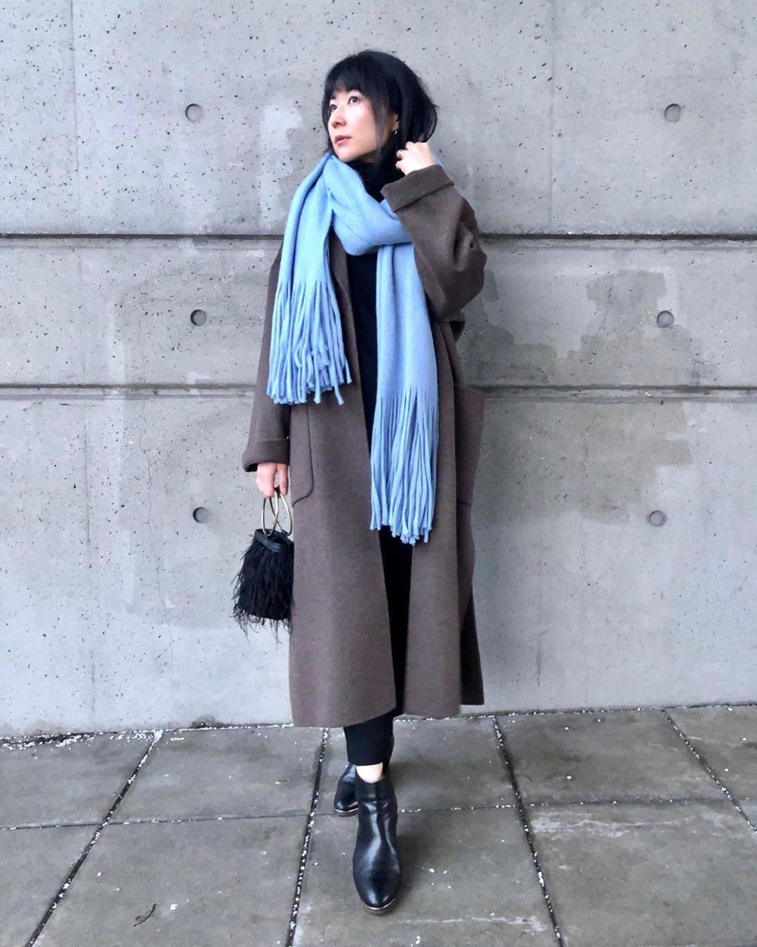 最高気温12度・最低気温2度 i.styleclosetの服装