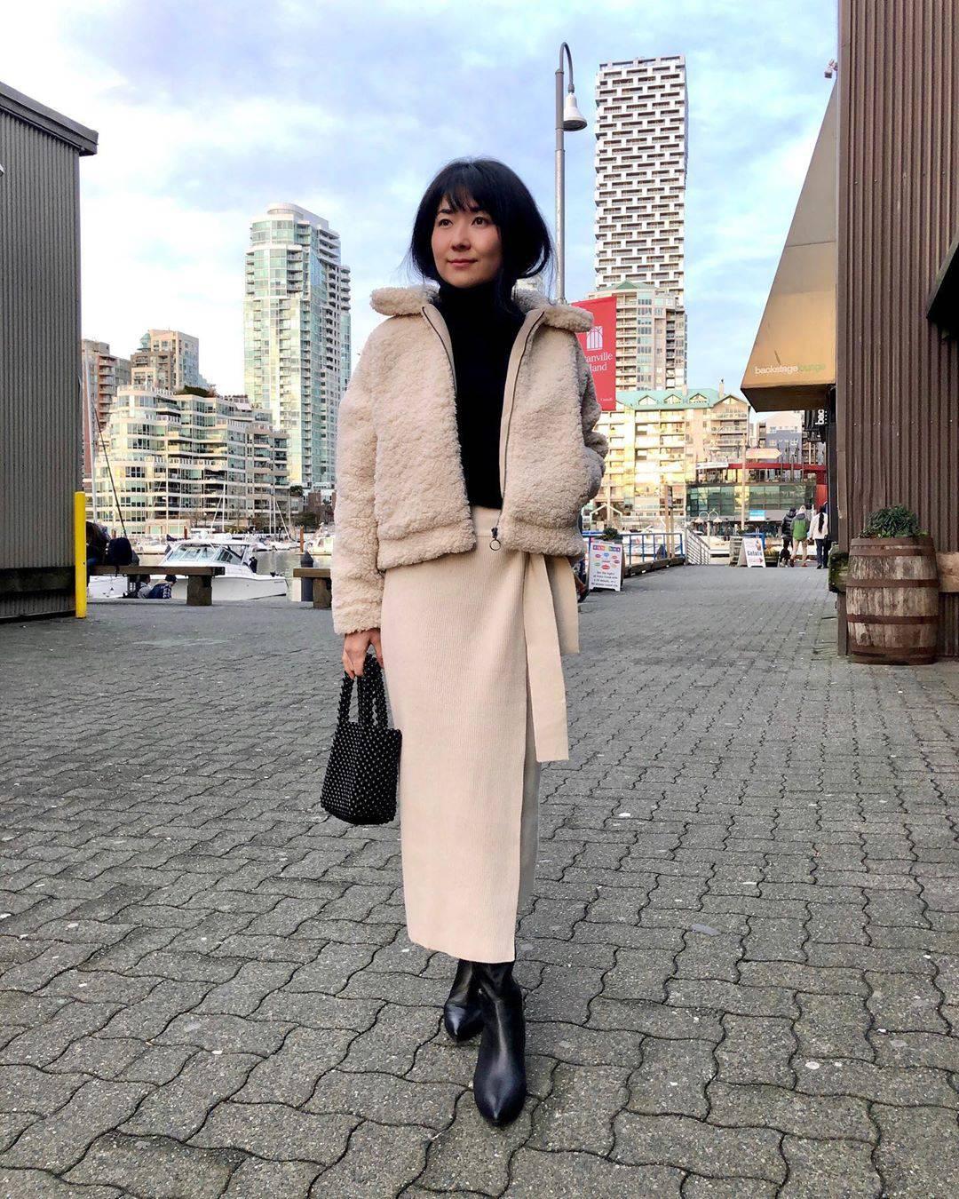 最高気温12度・最低気温3度 i.styleclosetの服装