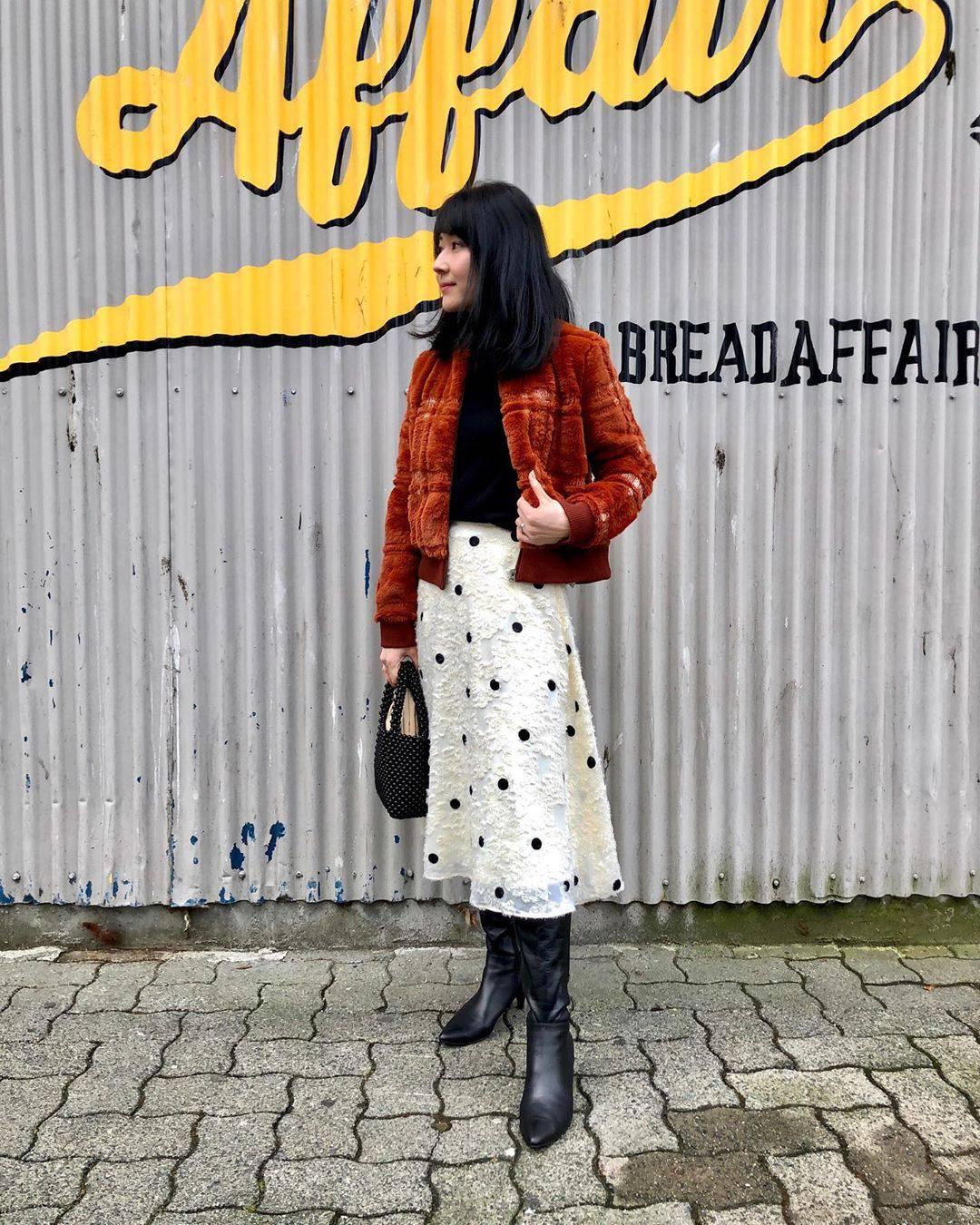最高気温12度・最低気温5度 i.styleclosetの服装