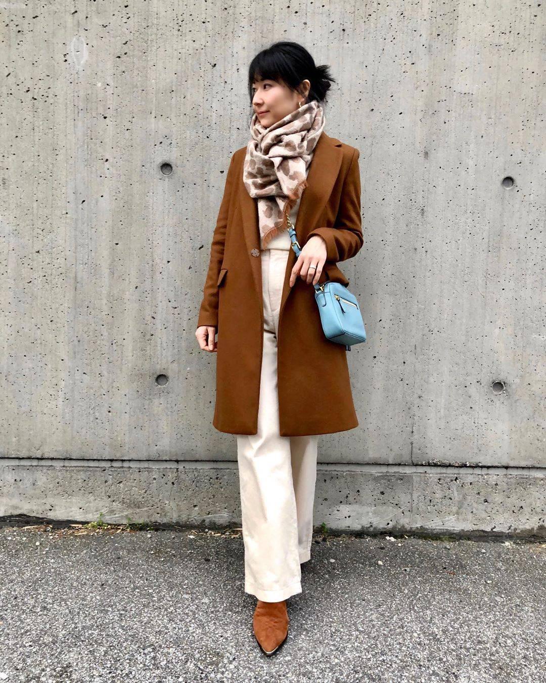 最高気温10度・最低気温3度 i.styleclosetの服装