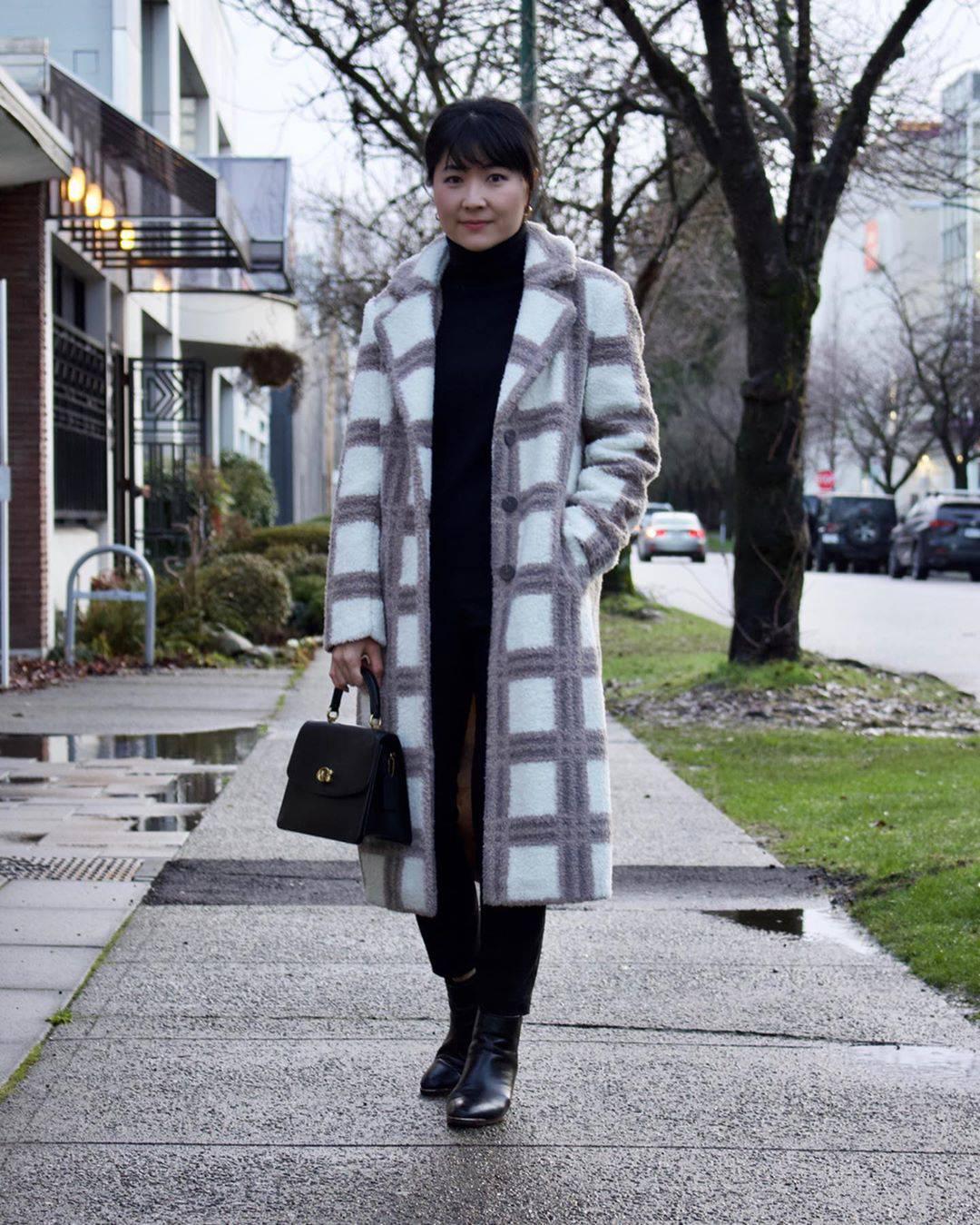 最高気温7度・最低気温2度 i.styleclosetの服装