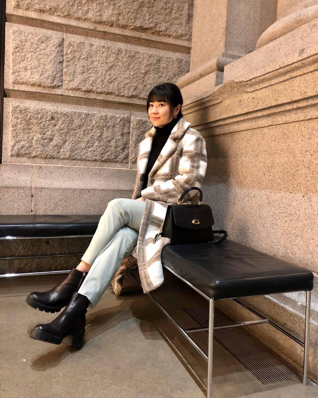 最高気温6度・最低気温-2度 i.styleclosetの服装